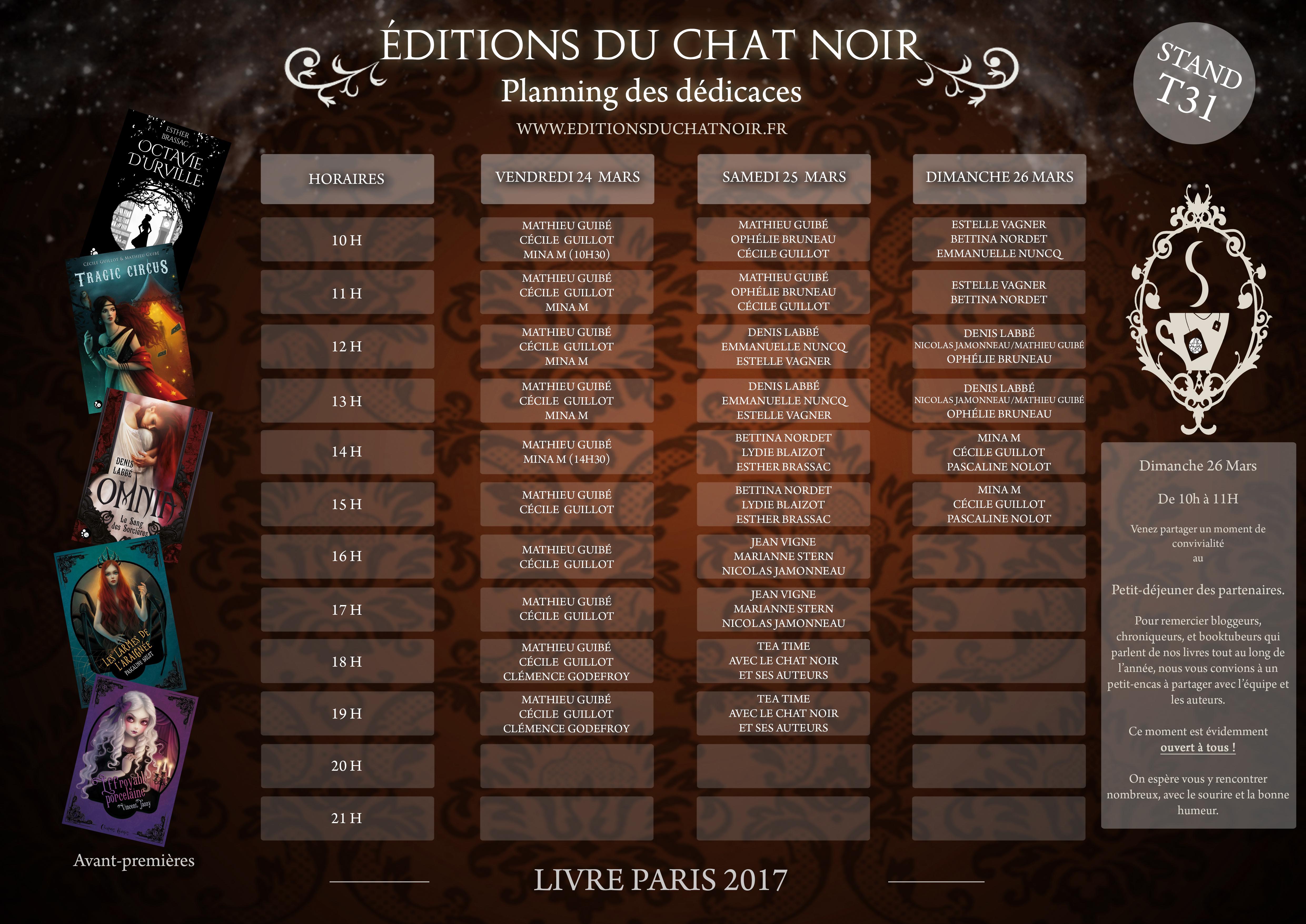 Planning ChatNoir SDL 2017